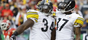 Rashard Mendenhall and Mike Wallace