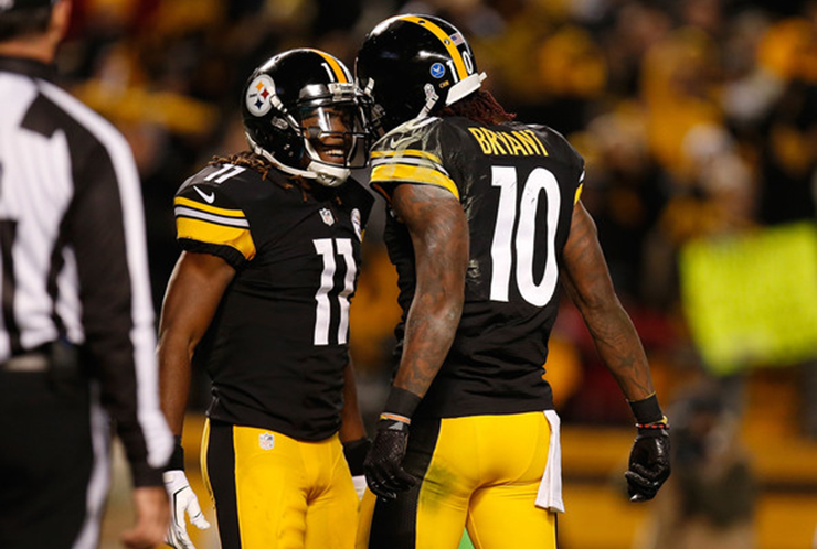 Martavis Bryant, Markus Wheaton Competing for No. 2 WR Job