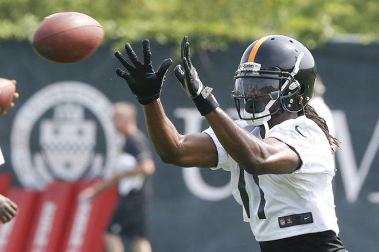 Steelers Waived Injured WR Eli Rogers, add WR Kenzel Doe
