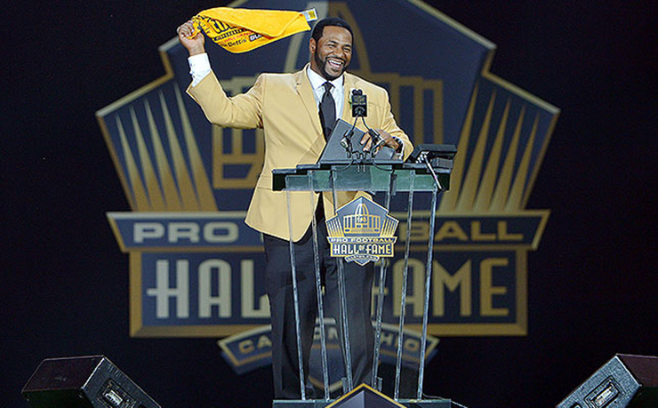 Jerome Bettis' 2015 Pro Football Hall of Fame Speech