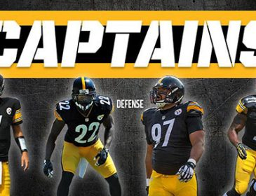 Steelers Name Four Captains for 2015 Season