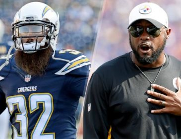 Mike Tomlin Revels Man Crush for Chargers Eric Weddle