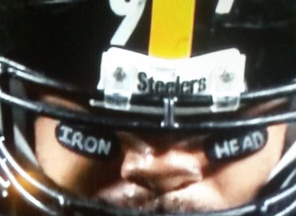 Cam Heyward Fined for Black Eye Tribute to His Father