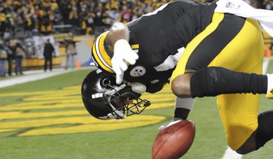Antonio Brown Flip Celebration