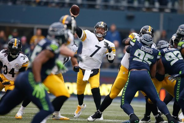 Big Ben Suffers Concussion as Steelers Fall to Seattle