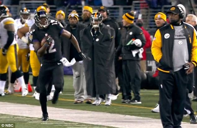 Steelers Claim Former Ravens WR Jacoby Jones of Waivers