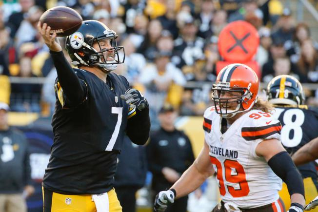 Ben Roethlisberger Comes Off Bench as Steelers Rout the Browns 30-9