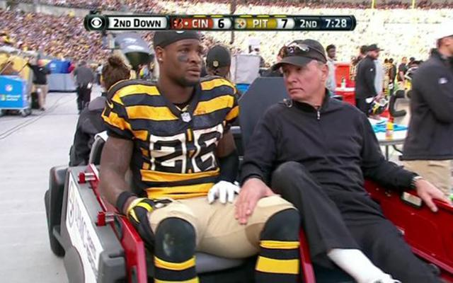 Le'Veon Bell Possibly Lost for Season with Torn MCL