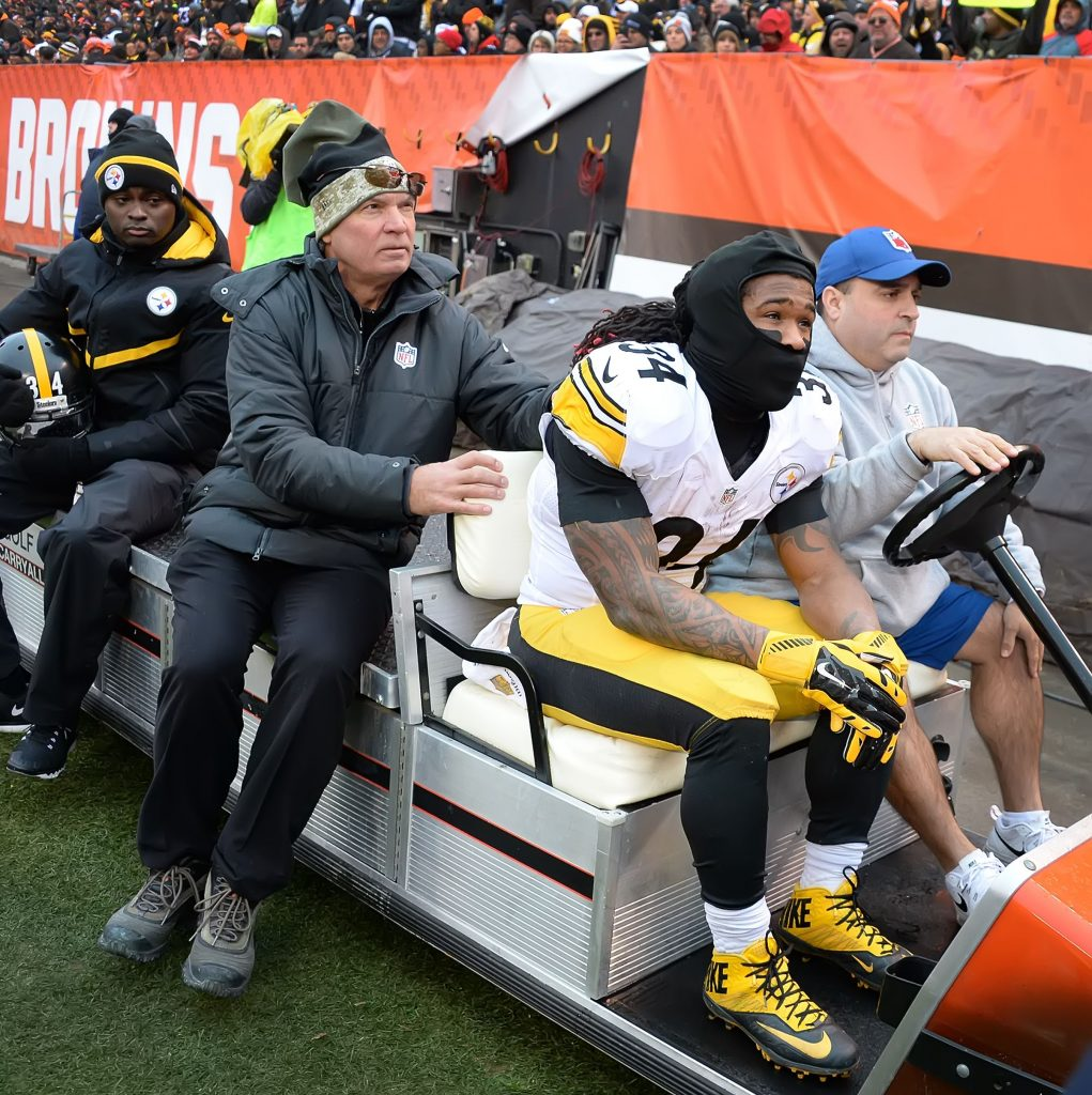 Steelers RB DeAngelo Williams is Day-to-Day