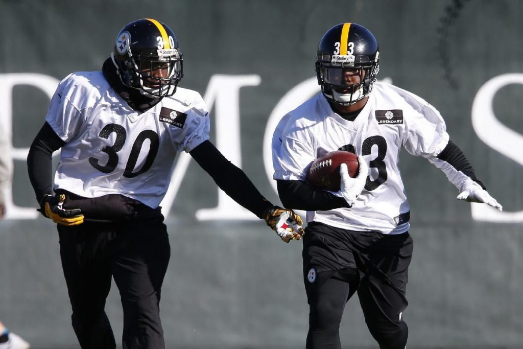 Steelers to Roll with backups Toussaint and Todman