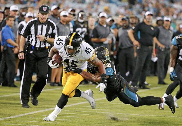 Steelers Place Roosevelt Nix on IR