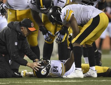 Steelers Rule Antonio Brown Out vs Broncos