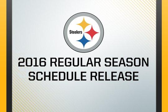 Steelers 2016 Schedule Release