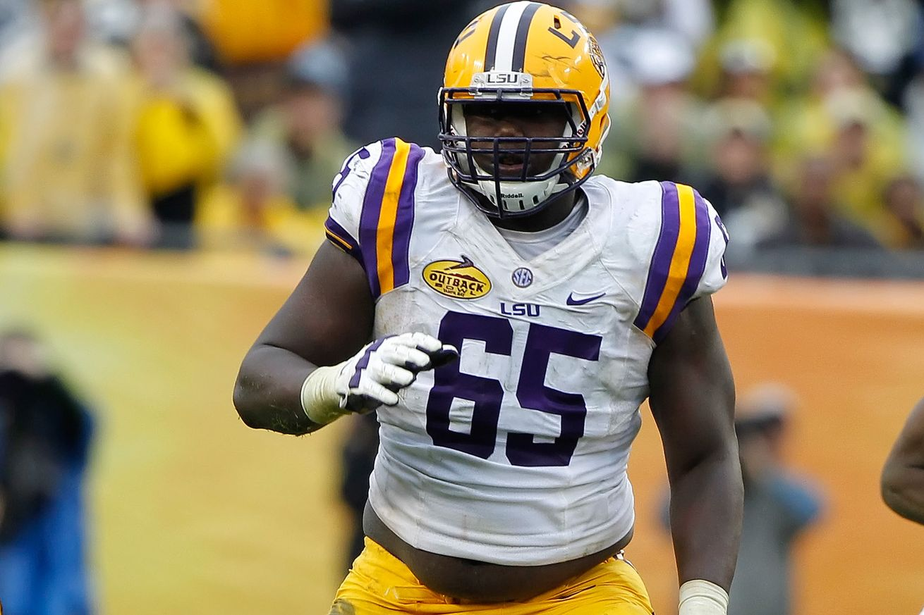 Steelers Select OT Jerald Hawkins in the 4th Round
