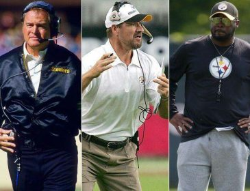 Mike Tomlin joins Chuck Noll and Bill Cowher in the 100 win column