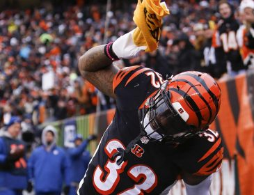 Jeremy Hill Learns Not to Mess with the Terrible Towel the Hard Way