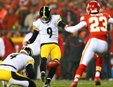 Steelers Beat Chiefs With A Record 6 Field Goals