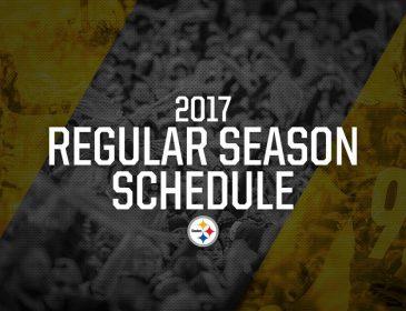 Steelers 2017 Schedule Released