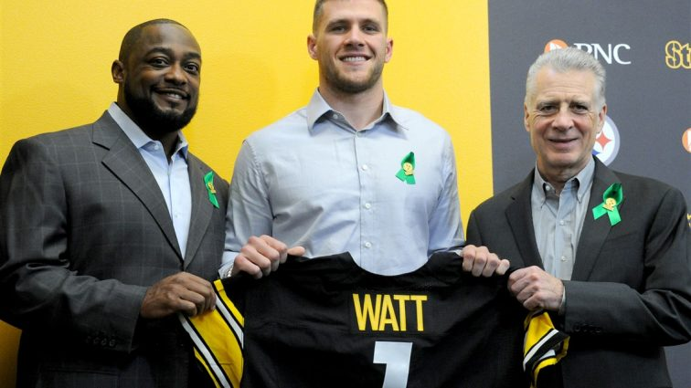 Steelers Select T.J. Watt with 30th Overall Pick