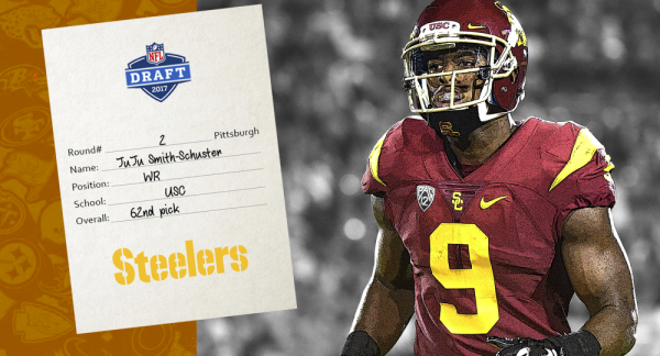 JuJu Smith-Schuster Selected by Steelers in 2nd Round