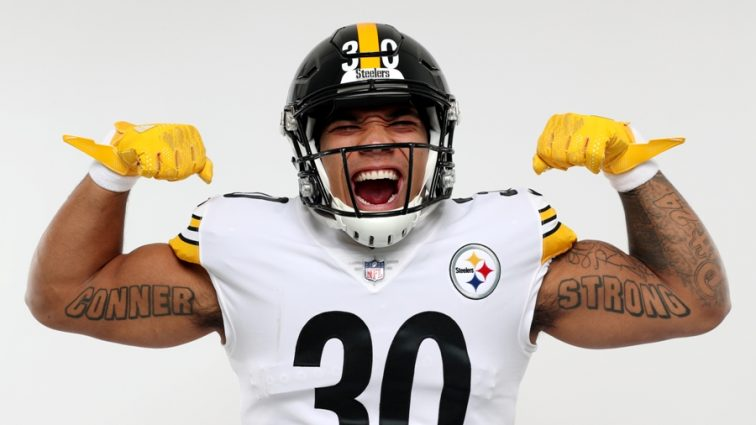 James Conner has the NFL's Best-selling Rookie Jersey