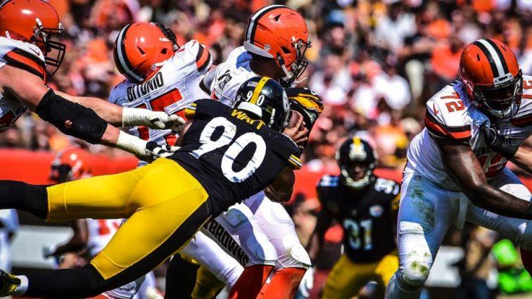 Steelers Win Season Opener 21-18 Over the Browns