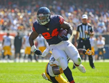 Bears Run Over Steelers in Overtime