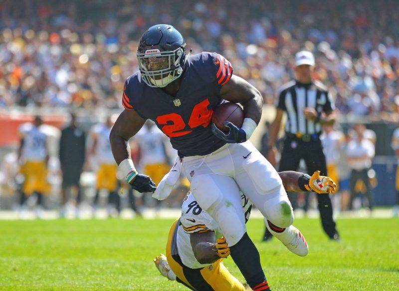 Bears Run Over Steelers in Overtime