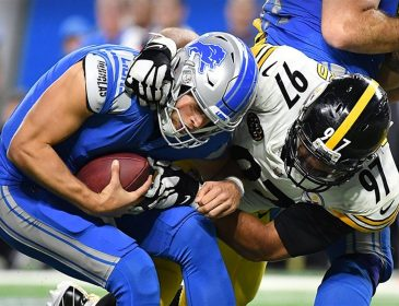 Steelers Beat Lions 20-15