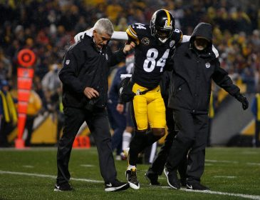 Antonio Brown Has Partially Torn Calf Muscle