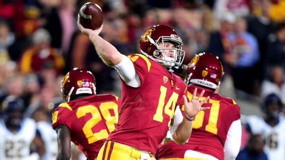 Armchair GM: Top Five 2018 Draft Steelers QB Candidates – #2, Sam Darnold