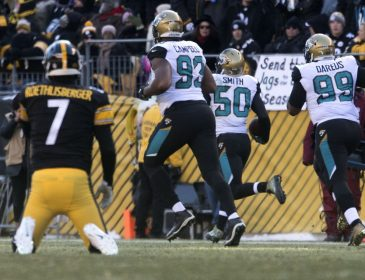 Steelers Fall to Jaguars 45-42
