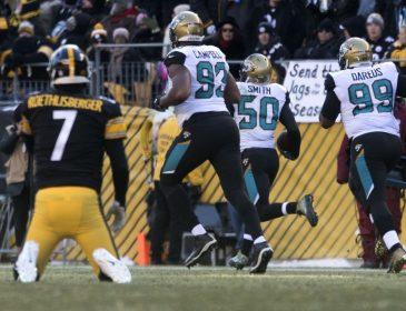 Steelers Fall to Jaguars 45-42