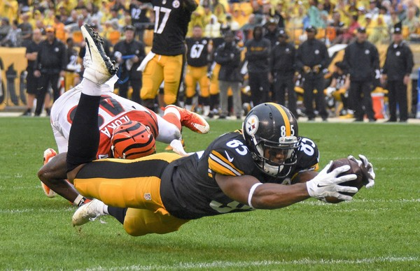 Steelers Re-sign TE Xavier Grimble