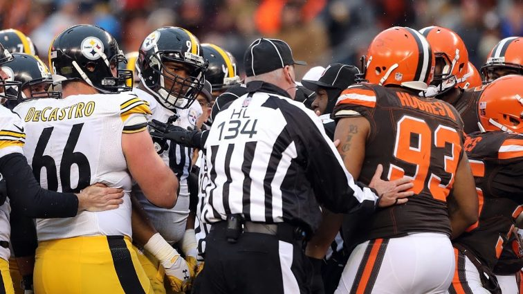 Steelers vs Browns Ranked as NFL's top Rivalry of 2019