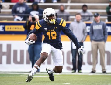 Steelers Select Toledo WR Diontae Johnson in 3rd Round